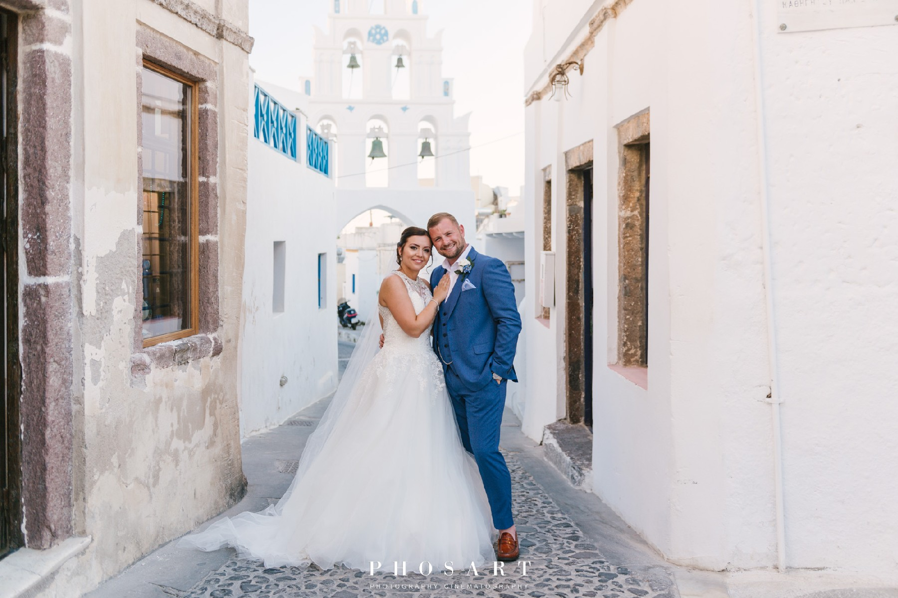 Wedding planner in Santorini