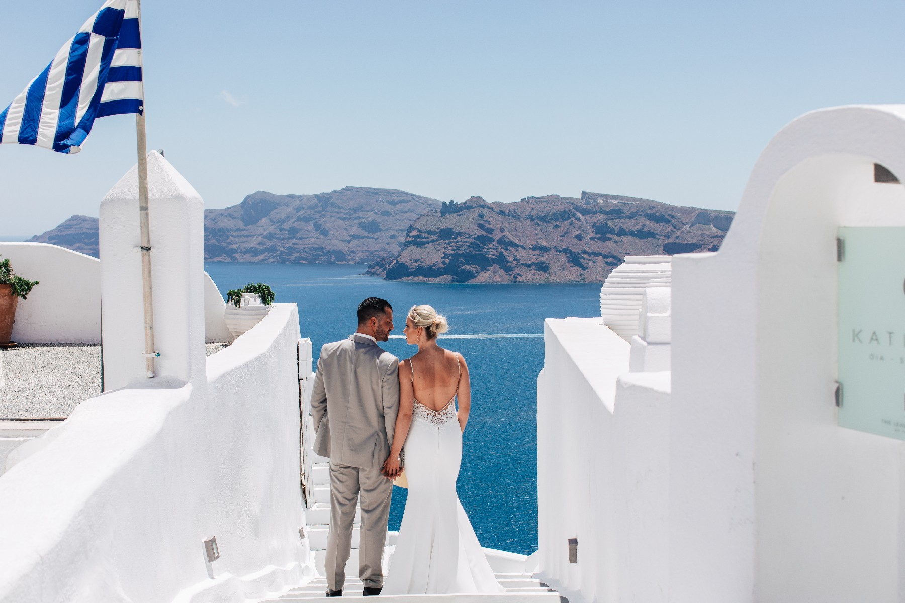 wedding planner santorini