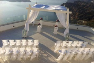 Santo WInery Santorini weddings