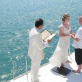 Sailing ship / yacht wedding santorini