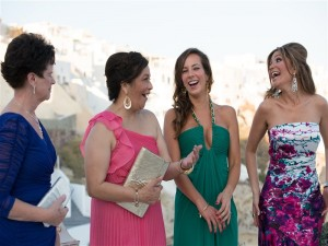 Wedding in Santorini, Andronis Hotel