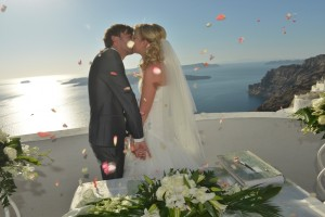 Wedding in Santorini, Santa Irene & Profitis Elias