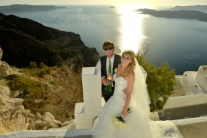 Wedding in Santorini, Santa Irene & Sphinx