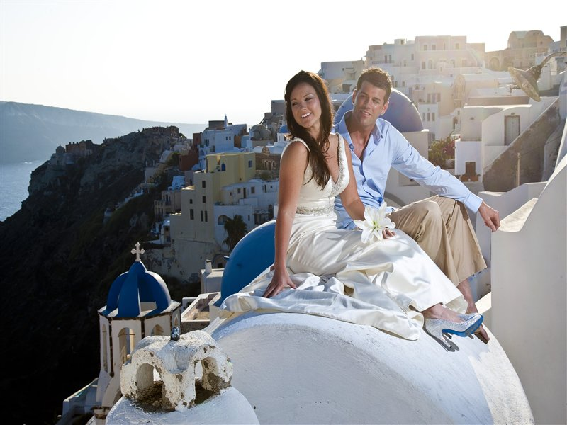 Wedding in Santorini