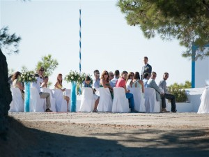 Wedding in Santorini