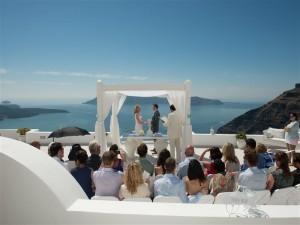 Kelly & Steve's Wedding in Santorini