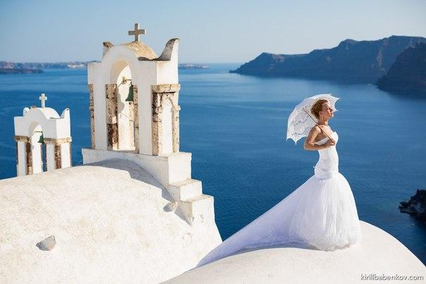 Andrey & Victoria Wedding in Santorini