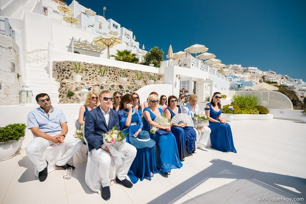 Andrey & Victoria Wedding in Santorini