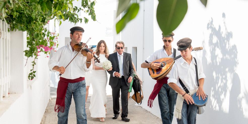 Alana & Theo Wedding in Santorini
