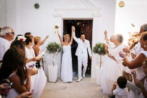 Dimitris & Erin, Wedding in Santorini!