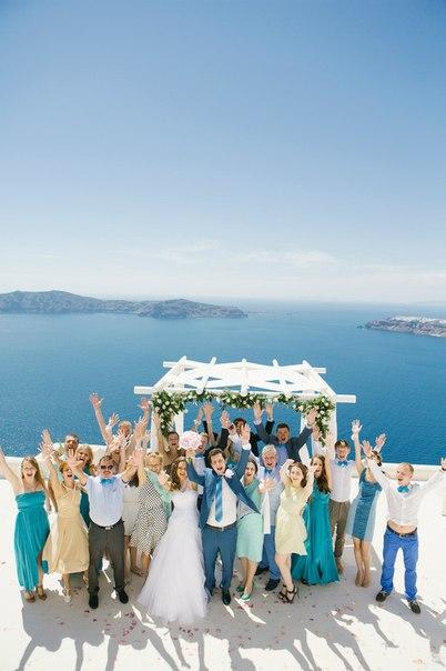 Olga & Dmitrii Wedding in Santorini!