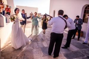 Anna & Mark, Wedding in Santorini!