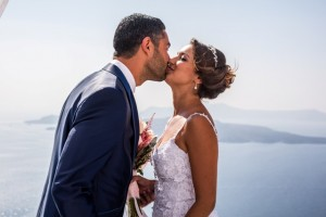 Gaylee & Jonathan, Wedding in Santorini!