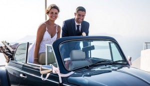 Gaylee & Jonathan, Wedding in Santorini!