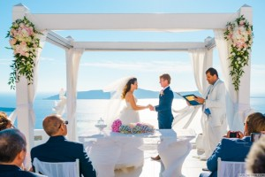 Bernice & Stephan, Wedding in Santorini!