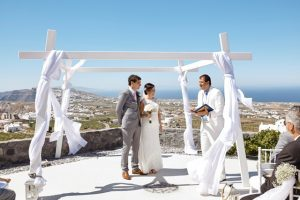 Sarah & Dean, Wedding in Santorini 2017!