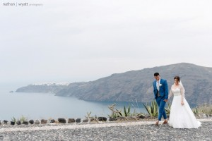 Ellie & Marcus, Wedding in Santorini!