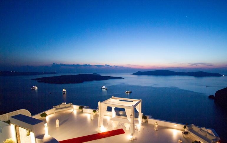 Dana Villas Weddings Santorini Gallery Divine Weddings