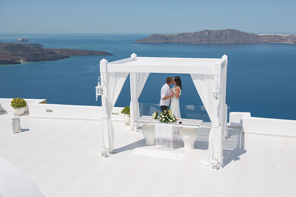 Dana Villas Weddings Santorini Gallery