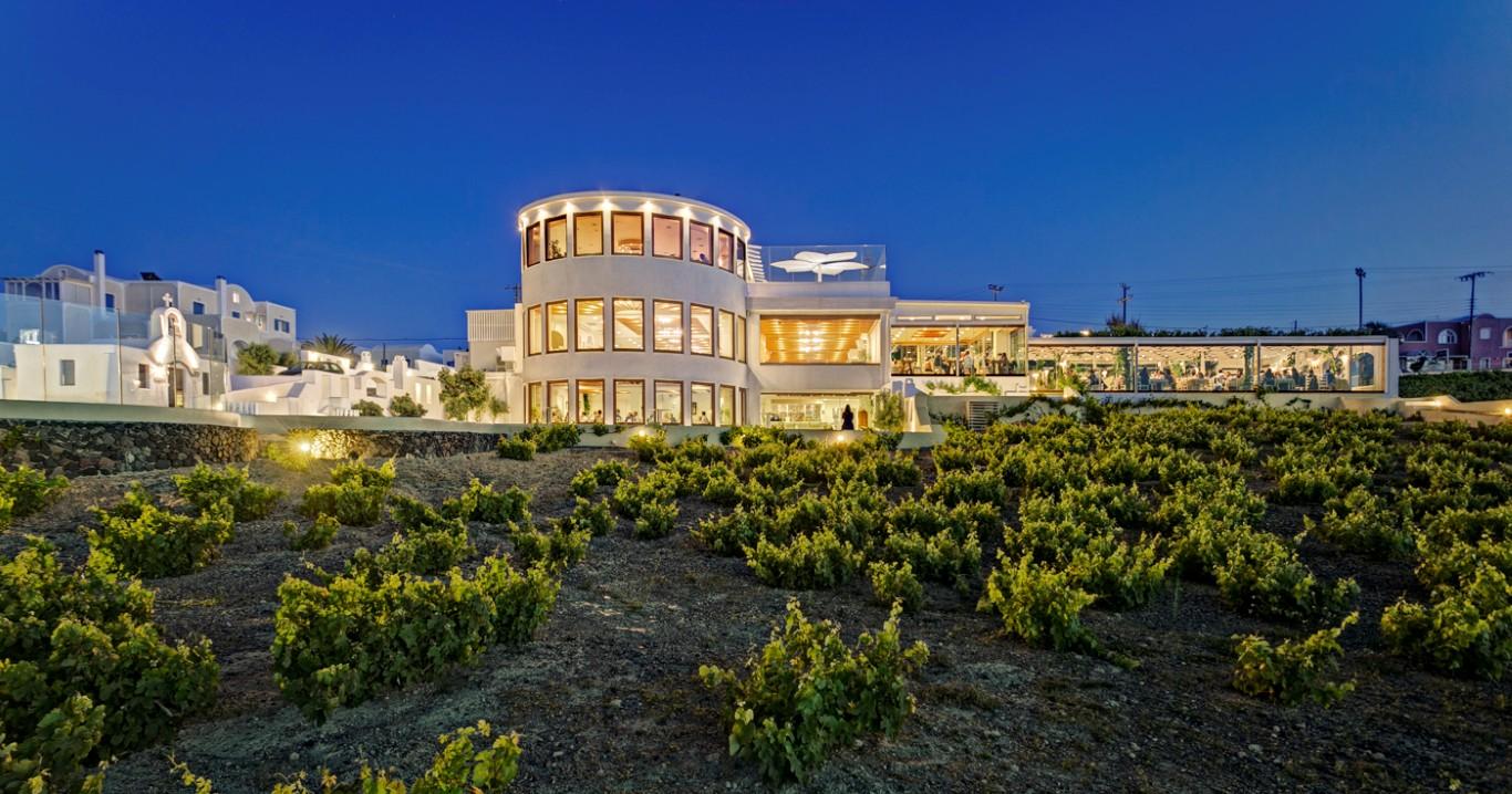 Pyrgos Restaurant Weddings Santorini Gallery  Divine ...