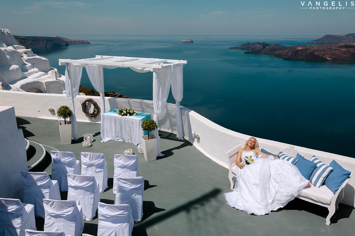 Santa Irene Weddings Santorini Gallery
