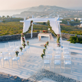 Saint Antonio Vineyard - Weddings Santorini